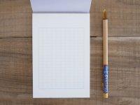 原稿用紙 ハガキサイズの便箋