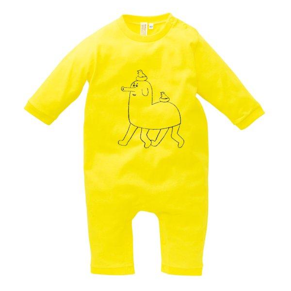 画像2: 吉ぞうさんロンパース・キッズTシャツ