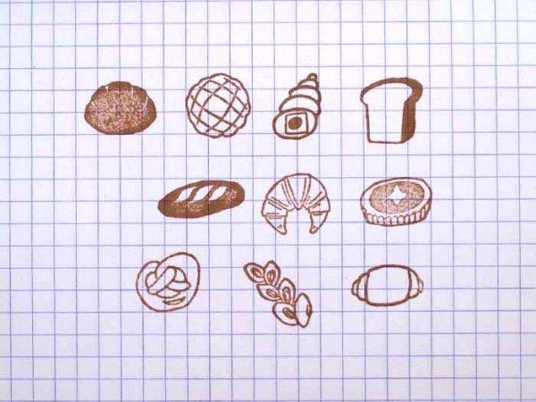 画像2: パンのハンコ