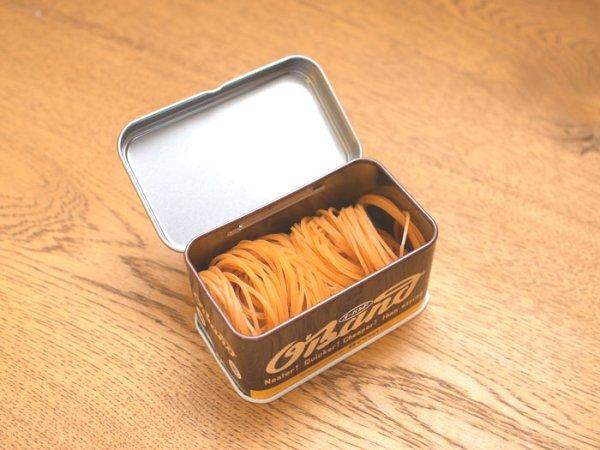 画像2: ブリキ缶入り ゴムバンド