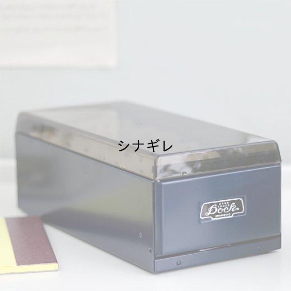 画像2: スチール 卓上名刺・カードケース L