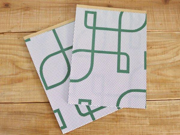 画像1: 36オリジナル 包装紙パッド ネオン