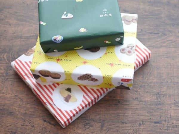 画像1: 36オリジナル おみせやさんA3ロール包装紙(純喫茶・洋菓子・和菓子)