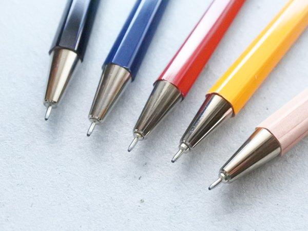 画像2: ニードルポイント 木軸ボールペンS