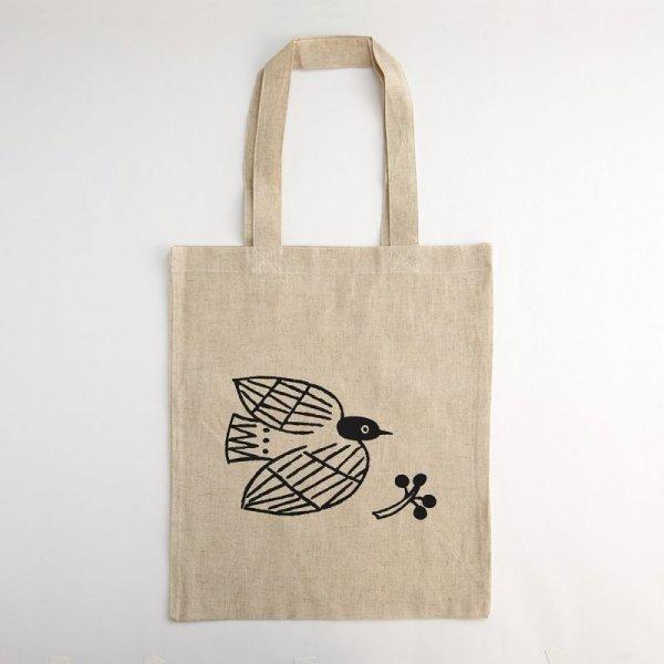 画像2: 松尾ミユキ×水縞 エコバッグ 小動物 鳥