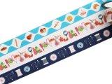 36オリジナル おみせやさん マスキングテープ(おしゃれの店・手芸店・パン屋)