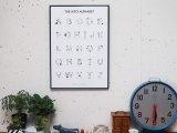 36×ほしのしほ 人アルファベット ポスター