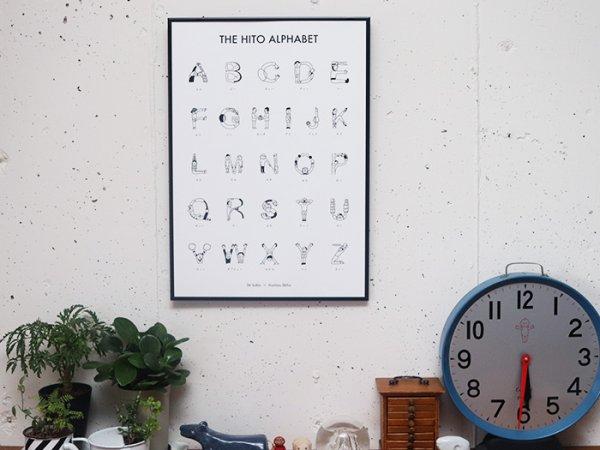 画像1: 36×ほしのしほ 人アルファベット ポスター