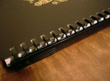 他の写真1: B5 ルーズリーフ グロリアノート 黒