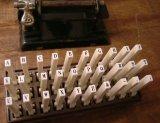 連結スタンプアルファベット 5号