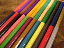 他の写真1: 水縞 2色 色鉛筆