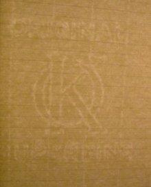 他の写真3: ツバメノート  A4サイズ クリーム 7ミリ罫 [A5002]